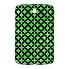 Circles3 Black Marble & Green Watercolor (r) Samsung Galaxy Note 8 0 N5100 Hardshell Case