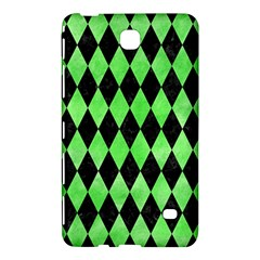Diamond1 Black Marble & Green Watercolor Samsung Galaxy Tab 4 (8 ) Hardshell Case