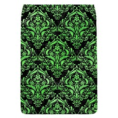 Damask1 Black Marble & Green Watercolor Flap Covers (s)
