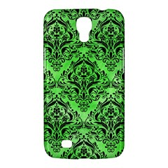 Damask1 Black Marble & Green Watercolor (r) Samsung Galaxy Mega 6 3  I9200 Hardshell Case