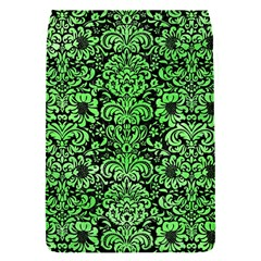 Damask2 Black Marble & Green Watercolor Flap Covers (s)