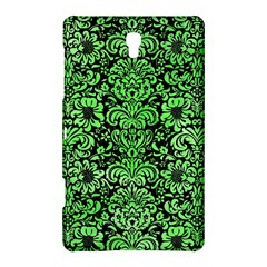 Damask2 Black Marble & Green Watercolor Samsung Galaxy Tab S (8 4 ) Hardshell Case