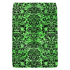 Damask2 Black Marble & Green Watercolor (r) Flap Covers (s)