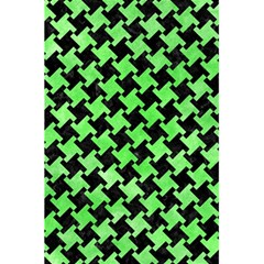 Houndstooth2 Black Marble & Green Watercolor 5 5  X 8 5  Notebooks