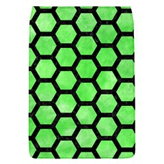 Hexagon2 Black Marble & Green Watercolor (r) Flap Covers (s)