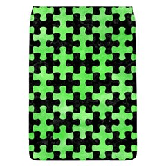 Puzzle1 Black Marble & Green Watercolor Flap Covers (l)