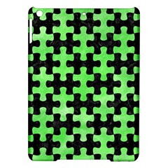 Puzzle1 Black Marble & Green Watercolor Ipad Air Hardshell Cases