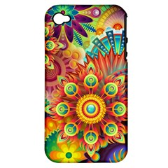 1960st Daydream Apple Iphone 4/4s Hardshell Case (pc+silicone)