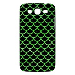 Scales1 Black Marble & Green Watercolor Samsung Galaxy Mega 5 8 I9152 Hardshell Case