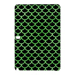 Scales1 Black Marble & Green Watercolor Samsung Galaxy Tab Pro 12 2 Hardshell Case