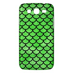 Scales1 Black Marble & Green Watercolor (r) Samsung Galaxy Mega 5 8 I9152 Hardshell Case
