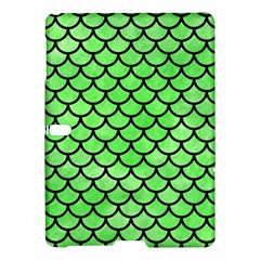 Scales1 Black Marble & Green Watercolor (r) Samsung Galaxy Tab S (10 5 ) Hardshell Case
