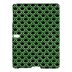 Scales2 Black Marble & Green Watercolor Samsung Galaxy Tab S (10 5 ) Hardshell Case