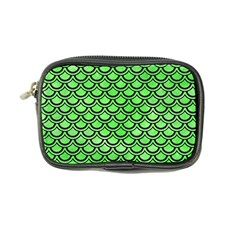 Scales2 Black Marble & Green Watercolor (r) Coin Purse