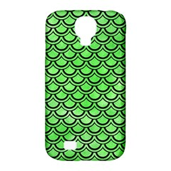 Scales2 Black Marble & Green Watercolor (r) Samsung Galaxy S4 Classic Hardshell Case (pc+silicone)