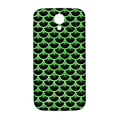 Scales3 Black Marble & Green Watercolor Samsung Galaxy S4 I9500/i9505  Hardshell Back Case