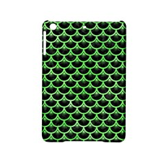 Scales3 Black Marble & Green Watercolor Ipad Mini 2 Hardshell Cases