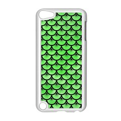 Scales3 Black Marble & Green Watercolor (r) Apple Ipod Touch 5 Case (white)