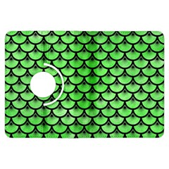 Scales3 Black Marble & Green Watercolor (r) Kindle Fire Hdx Flip 360 Case