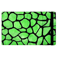 Skin1 Black Marble & Green Watercolor Apple Ipad 3/4 Flip Case