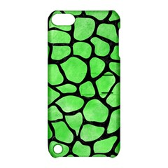 Skin1 Black Marble & Green Watercolor Apple Ipod Touch 5 Hardshell Case With Stand