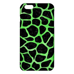 Skin1 Black Marble & Green Watercolor (r) Iphone 6 Plus/6s Plus Tpu Case