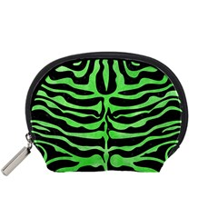 Skin2 Black Marble & Green Watercolor Accessory Pouches (small)