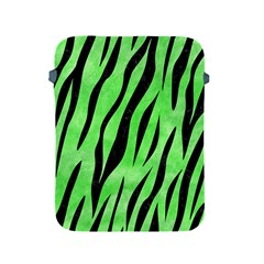 Skin3 Black Marble & Green Watercolor (r) Apple Ipad 2/3/4 Protective Soft Cases