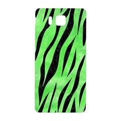 Skin3 Black Marble & Green Watercolor (r) Samsung Galaxy Alpha Hardshell Back Case