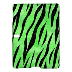 Skin3 Black Marble & Green Watercolor (r) Samsung Galaxy Tab S (10 5 ) Hardshell Case