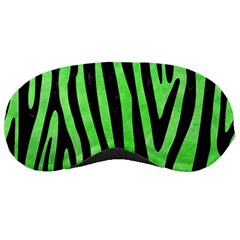 Skin4 Black Marble & Green Watercolor Sleeping Masks