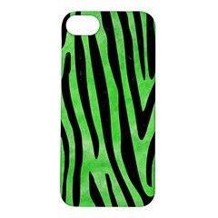 Skin4 Black Marble & Green Watercolor Apple Iphone 5s/ Se Hardshell Case