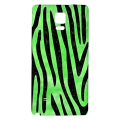 Skin4 Black Marble & Green Watercolor Galaxy Note 4 Back Case