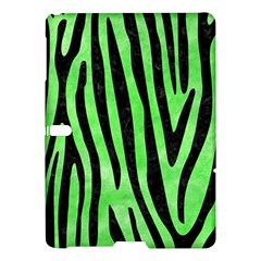 Skin4 Black Marble & Green Watercolor Samsung Galaxy Tab S (10 5 ) Hardshell Case
