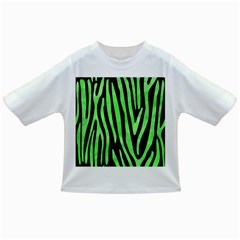 Skin4 Black Marble & Green Watercolor (r) Infant/toddler T Shirts