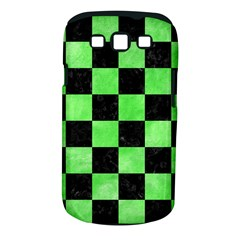 Square1 Black Marble & Green Watercolor Samsung Galaxy S Iii Classic Hardshell Case (pc+silicone)