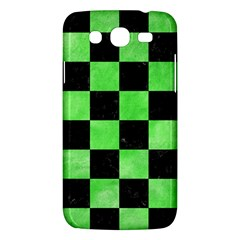 Square1 Black Marble & Green Watercolor Samsung Galaxy Mega 5 8 I9152 Hardshell Case