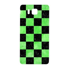 Square1 Black Marble & Green Watercolor Samsung Galaxy Alpha Hardshell Back Case