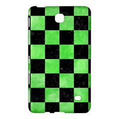 Square1 Black Marble & Green Watercolor Samsung Galaxy Tab 4 (7 ) Hardshell Case