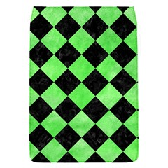Square2 Black Marble & Green Watercolor Flap Covers (s)
