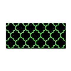 Tile1 Black Marble & Green Watercolor Cosmetic Storage Cases