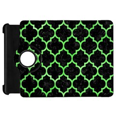 Tile1 Black Marble & Green Watercolor Kindle Fire Hd 7
