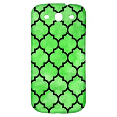 Tile1 Black Marble & Green Watercolor (r) Samsung Galaxy S3 S Iii Classic Hardshell Back Case
