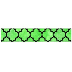 Tile1 Black Marble & Green Watercolor (r) Flano Scarf (large)