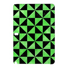 Triangle1 Black Marble & Green Watercolor Samsung Galaxy Tab Pro 12 2 Hardshell Case