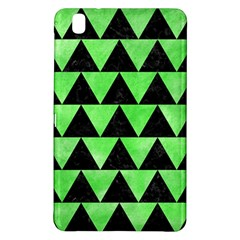 Triangle2 Black Marble & Green Watercolor Samsung Galaxy Tab Pro 8 4 Hardshell Case