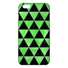 Triangle3 Black Marble & Green Watercolor Iphone 6 Plus/6s Plus Tpu Case