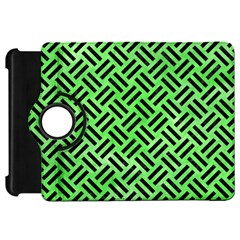 Woven2 Black Marble & Green Watercolor (r) Kindle Fire Hd 7