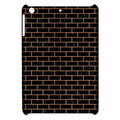 Brick1 Black Marble & Light Maple Wood Apple Ipad Mini Hardshell Case