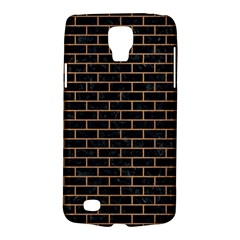Brick1 Black Marble & Light Maple Wood Galaxy S4 Active